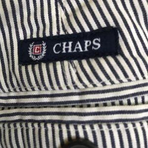 CHAPS , men striped pants, size W36 L33,100%COTTON